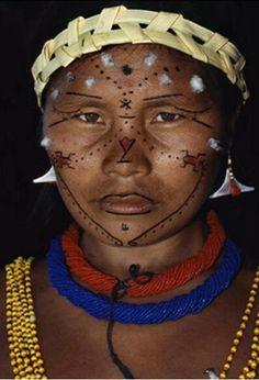 The Samena - Venezuela. We Are The World, People Around The World, We The People, Around The Worlds, Pintura Tribal, Beautiful World, Beautiful People, Photo Portrait, Amor