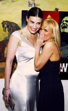 "Kristin Chenoweth and Idina Menzel ~ opening night of ""Wicked"" on Broadway"