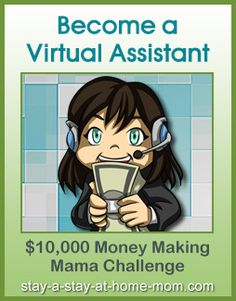 http://www.stay-a-stay-at-home-mom.com/become-a-virtual-assistant.html Become a Virtual Assistant! How To Get Money, How To Become, Make Money From Home, Make Money Online, Earn Money, Business Opportunities, Work From Home Opportunities, Online Work, Business Money
