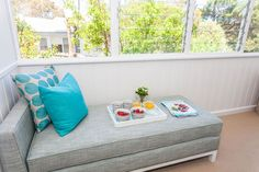 lounge area for beach house