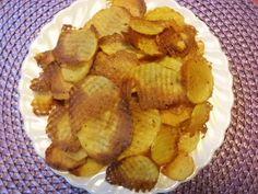 Kartoffelchips selber machen Backofen Rezept