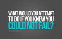 We want to know...what would you attempt? #projectinspired #quotes #inspiration