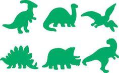 Dinosaur stencils for kids room