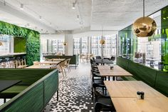 De Bijenkorf restaurant by i29 interior architects on Behance
