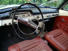 My '66 Volvo Amazon interior