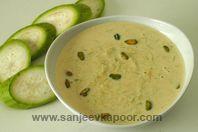Lauki Kheer - Traditional Indian pudding!