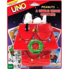 Peanuts Charlie Brown UNO Card Game