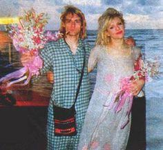 Kurt and Courtney wedding, Waiki 1992