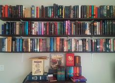 "akernelofnonsense: "" January Book Photo Challenge 11. Bookshelf. """