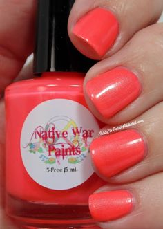 Ashley is PolishAddicted: Native War Paints: Red Butler - Swatches and Review