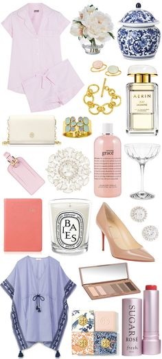 Todays holiday gift guide features classic and feminine-inspired pieces for the sophisticate....