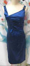 NWT Roberto Cavalli Pleated Silk Dress - Size 40