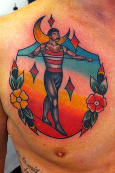 By Mirko Colli #Tattoo #Adrenaline #Follonica #circus theme