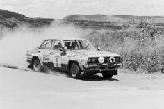 Safari Rally Shekhar Mehta Datsun Nissan 160J
