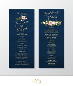 This program may be customized with your wording and colors. Any custom piece can be created to match this style.  View the entire ASHLEY