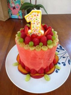 Fruit First Birthday