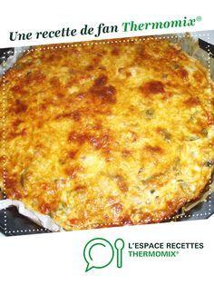 QUICHE AUX POIVRONS, COURGETTE, TOMATE, LARDONS par clau2det. Une recette de fan à retrouver dans la catégorie Tartes et tourtes salées, pizzas sur www.espace-recettes.fr, de Thermomix®.