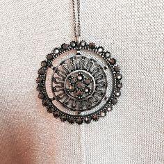 Club Monaco pendant necklace Club Monaco / New condition / Diamonds around the pendant Club Monaco Jewelry Necklaces