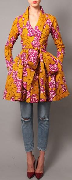 NEW The Gugu Dress by DemestiksNewYork on Etsy~African fashion, Ankara, kitenge, African women dresses, African prints, Braids, Nigerian wedding, Ghanaian fashion, African wedding ~DKK