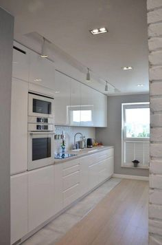 Modern Kitchen Interior Remodeling 25 Modern Kitchen Ideas With French Country Style Kitchen Room Design, Modern Kitchen Design, Home Decor Kitchen, Interior Design Kitchen, Kitchen Ideas, French Country Kitchens, Farmhouse Style Kitchen, Modern Farmhouse Kitchens, Cool Kitchens