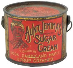 Buy online, view images and see past prices for Aunt Jemima's Sugar Cream Candy Tin. Invaluable is the world's largest marketplace for art, antiques, and collectibles. Vintage Tins, Vintage Labels, Vintage Antiques, Vintage Kitchen, Vintage Stuff, Vintage Props, Vintage Bottles, Vintage Coffee, Advertising Signs