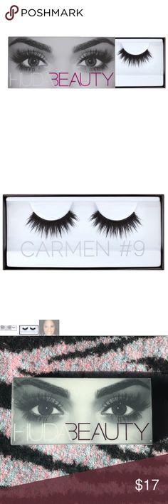 Huda Beauty Carmen #9 Eyelashes Brand new in box Huda Beauty Carmen #9 Eyelashes. Sephora Makeup False Eyelashes