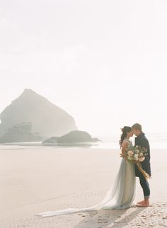 Best at Dusk - Organic Coastal Wedding Ideas | www.weddingsparrow.co.uk | Taylor & Porter Photography