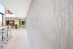 Carnegie Veneer Emboss Wallcovering Installation - Woeller Group