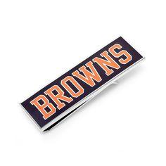 Cleveland Browns Money Clip, Men's, Multicolor