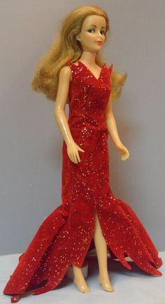 Vintage Ideal Tammy Family Samantha Bewitched Celebrity Doll in Original Gown