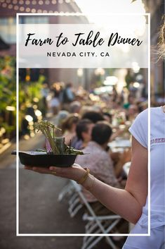 Throwback fun to Nevada City events over the years, photos from the 2014 Farm to Table dinner in downtown Nevada City. Lemon Custard Ice Cream, Bacon Pizza, Flat Iron Steak, Mint Salad, City Events, City Farm, Nevada City, Fruit In Season, Wine And Beer