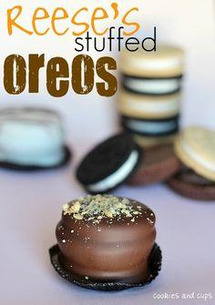 reese's stuffed oreos!