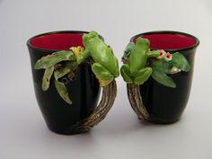 Cuppa Companions by Tanya Bechara   Hop'n Frog Pottery