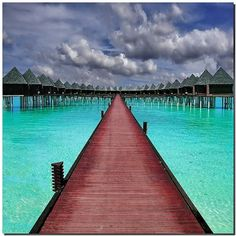 Last way to paradise -Overwater in Olhuveli atoll | Maldives beautiful-getaway