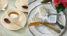DIY plastic chocolate spoons for hot chocolate. Fun for a winter wedding!