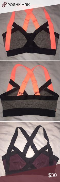 (2) NWOT Aritzia Sports Bras Both are size small - bought on Posh, but are a tad too big on me. Original owner had sold it as NWOT and said she was a 34b cup size. I'm 32a and they're slightly too loose. Both bras sold together. Originally $24 each. Aritzia Intimates & Sleepwear Bras