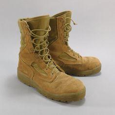 USMC Marine Corps Desert Combat Boots by Belleville Boot Company, Size 9.5R #Belleville #CombatBoots