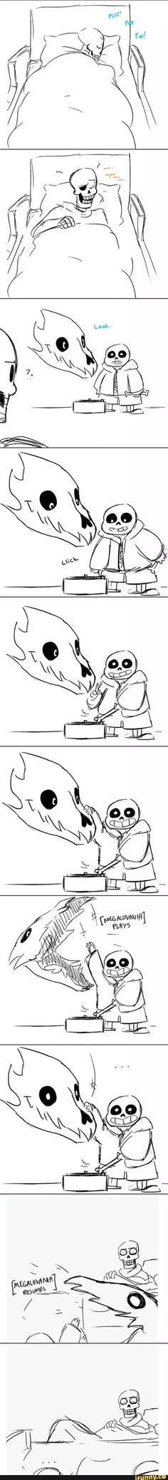 sans and papyrus comic; lilo and stitch crossover