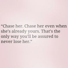 Its simple! The same things you do to get her you do to keep her. Never become complacent, always date her, ALWAYS MAKE HER FEEL WANTED! #ShesWorthTheChase