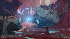ArtStation - Gravity Effects on Nessus in Destiny 2, Sung Choi