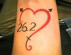 I now proudly and forever display being a transgender marathoner on my wrist Marathon Tattoo, New York Marathon, Cute Tats, Wrist Tattoos, Tattos, Lace Tattoo, Tattoo Designs, Tattoo Ideas, Transgender