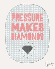 Diamonds under pressure
