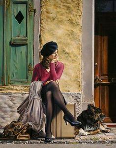 Por amor al arte: Paul Kelley Paul Kelly, Bd Art, Hyperrealism, Foto Art, Art For Art Sake, Canadian Artists, Mural Art, Figure Painting, Figurative Art