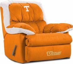 University of Tennessee Volunteers Home Team Recliner