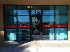 Storefront Window Graphics | Store Front Window Graphics - Farmers Insurance