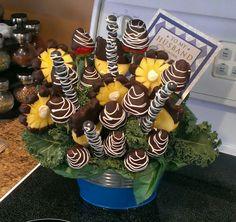 Fruit n Flowers anniversary gift