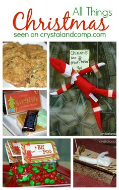 A collection of all things Christmas: crafts, foods, activities and Elf on the Shelf ideas.