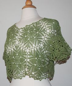 I made this crochet summer top from my favorites flower motifs. You can wear it with any tank top under. The top is short and loose. It gives you a young and relaxed look.  Material: 100% cotton thread.  Color : olive green  Size : US 6-8-10  Care instructions: For the best results, hand wash recommended in cold water. Roll in to a towel and squeeze gently exes of water. Lay flat, reshape and dry.  Didnt find what you were looking for?  To see my other tops click here: http://www.et...