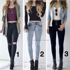 Best Outfit Styles For Women - Fashion Trends Teenage Girl Outfits, Teen Fashion Outfits, Fashion Mode, Teenager Outfits, Cute Fashion, Outfits For Teens, Fall Outfits, Classy Teen Fashion, Nail Fashion
