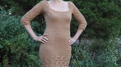 InterUnet: Free Video Tutorial (In English!): How To Knit A Woman's Dress. Video Tutorial W/ Detailed Instructions. Link To Written Instructions Throughout Video And In The Description Box Below Video